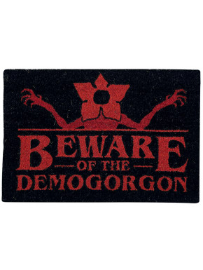 Felpudo Stranger Things Beware of the Demogorgon
