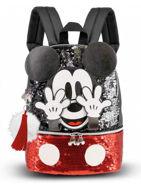 Mochila Mickey Lentejuelas Disney