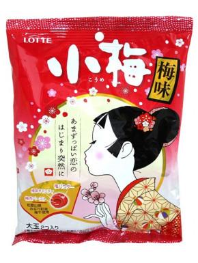 Caramelos Ume Lotte