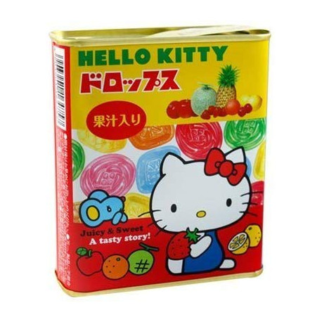 Cajita de Caramelos Hello Kitty
