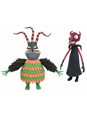 Set 2 Figuras Arlequín y Demonio Pesadilla antes de Navidad