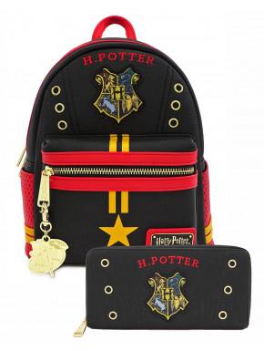 Bolso mochila y cartera Hogwarts Loungefly
