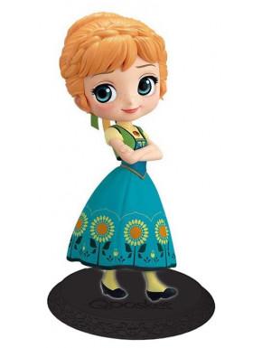 Figura Anna Suprise Disney Frozen Banpresto Q Posket 14 cm Versión B