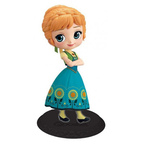 Figura Anna Suprise Disney Frozen Banpresto Q Posket 14 cm