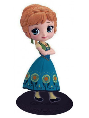 Figura Anna Disney Surprise Frozen Banpresto Q Posket