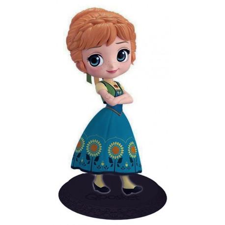Figura Anna Disney Surprise Frozen Banpresto Q Posket