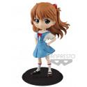 Figura Asuka Langley Evangelion Q Posket Banpresto 14 cm