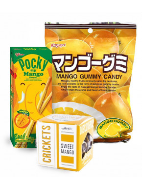 Pack snacks sabor MANGO