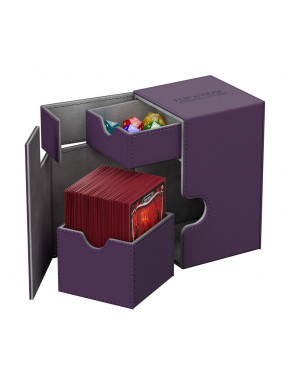 Caja 100 cartas Morado XenoSkin™ Ultimate Guard