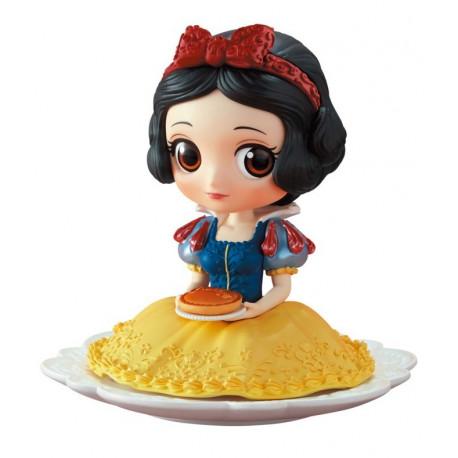 Figura Blancanieves con Tarta Banpresto Q Posket Disney 14 cm