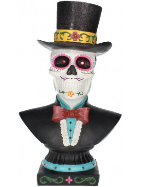 Réplica Busto Calavera Mexicana