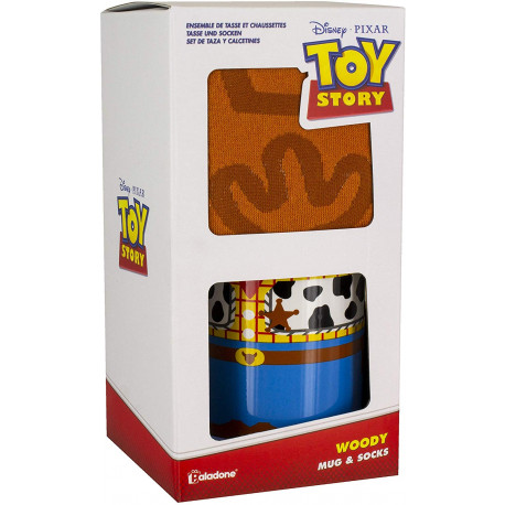 Pack Taza & Calcetines Toy Story Woody Disney