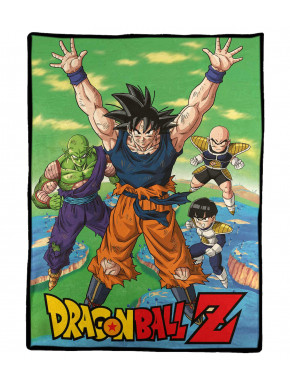 Manta Polar Dragon Ball Z 100 x 150 cm