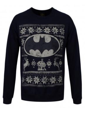 Sudadera Navidad Batman Logo