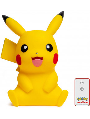 Lámpara 3D LED Pikachu Pokemon 40 cm