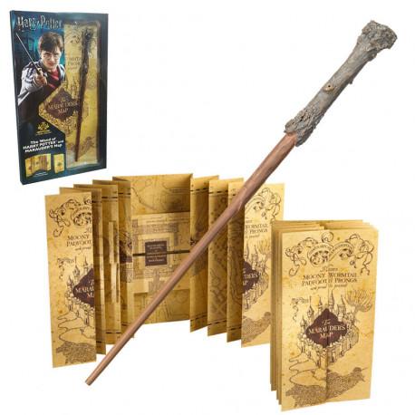 Set Varita & Mapa del Merodeador Harry Potter