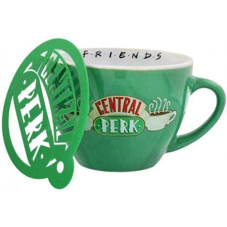 Taza Cappuccino Central Perk Friends