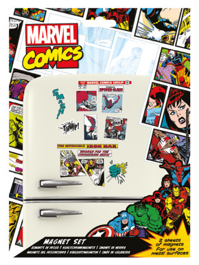 Set imanes Marvel Retro