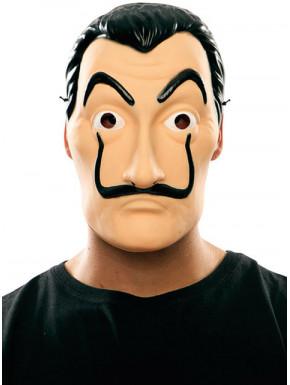 Máscara La Casa de Papel Latex Dalí