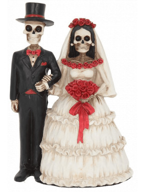 Figura Esqueletos Eternally Yours 13 cm