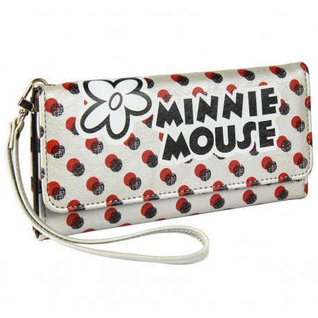 Cartera Billetera Minnie Mouse Lunares Disney