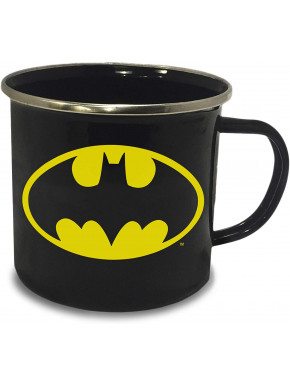 Taza Metálica Batman Logo