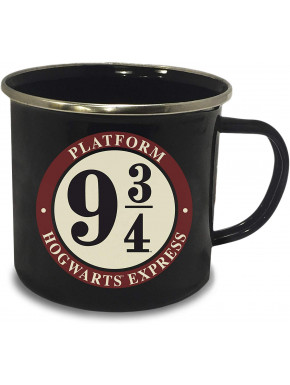 Taza Metálica Andén 9 3/4 Harry Potter