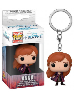 Llavero mini Funko Pop! Anna Frozen 2 Disney