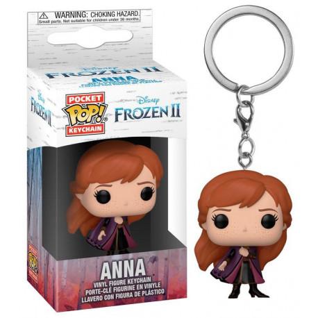 Llavero mini Funko Pop! Anna Frozen 2 Disney