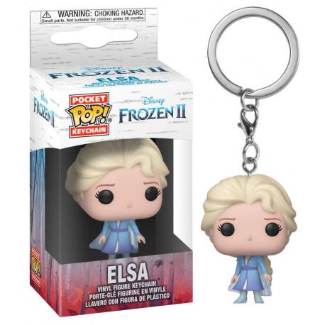 Llavero mini Funko Pop! Elsa Frozen 2 Disney