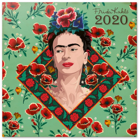 Calendario pared 2020 Frida Kahlo