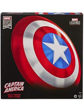 Escudo Capitán América Edición 80 Aniversario Hasbro