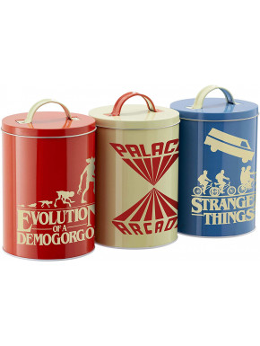 Set 3 Botes Stranger Things
