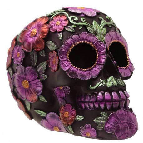 Figura Calavera Día de los muertos Floral