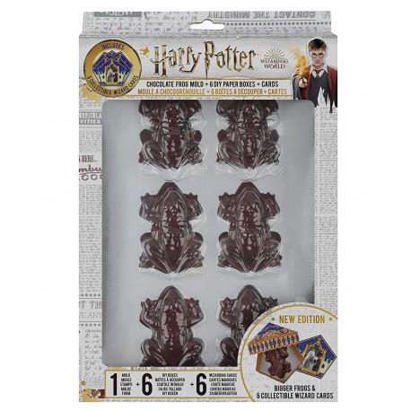 Molde para Chocolatinas Ranas Harry Potter