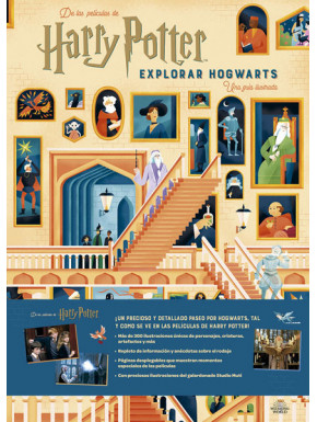 Libro Explorar Hogwarts Harry Potter