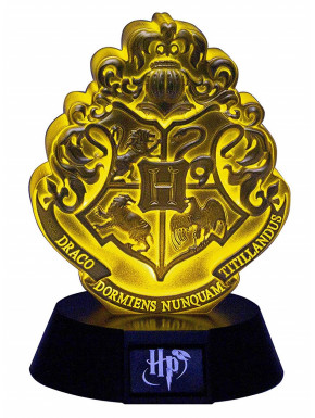 Mini Lámpara Hogwarts Crest Harry Potter