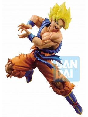 Figura Son Goku en modo Super Saiyan Dragon Ball 15,5 cm