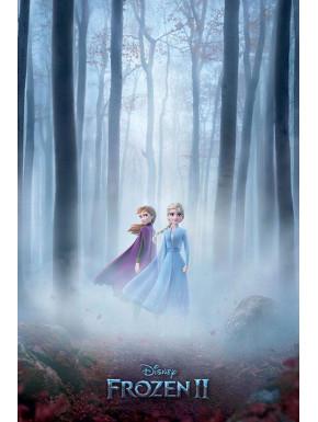 Póster El Reino del Hielo Frozen 2 Disney