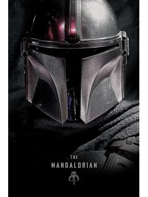 Póster The Mandalorian Star Wars Dark