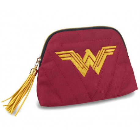 Estuche Neceser Wonder Woman Granate