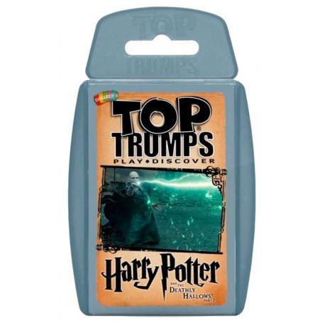 Juego de cartas Harry Potter Top Trumps Las Reliquias de la Muerte