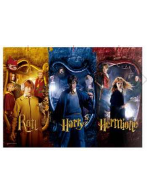 Puzzle Ron, Harry y Hermione Harry Potter