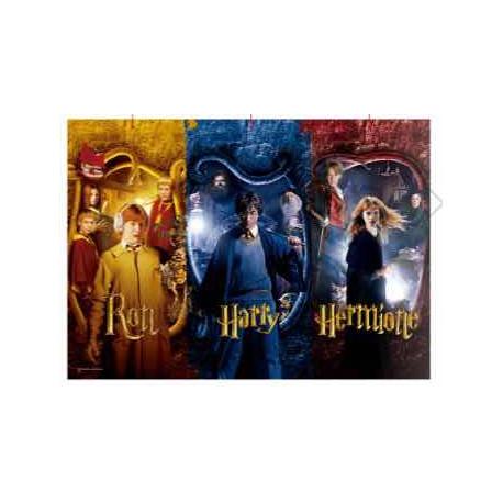 Puzzle Ron, Harry y Hermione Harry Potter