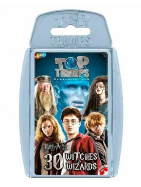 Juego de cartas Harry Potter Top Trumps 30 Magos Hechiceros