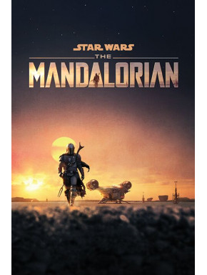 Póster The Mandalorian Star Wars Dusk