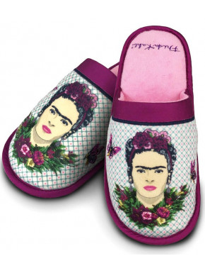 Zapatillas Frida Kahlo Violeta