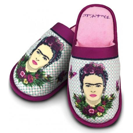 Zapatillas Frida Kahlo Violeta