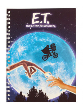 Libreta Cuaderno A5 E.T. Moon