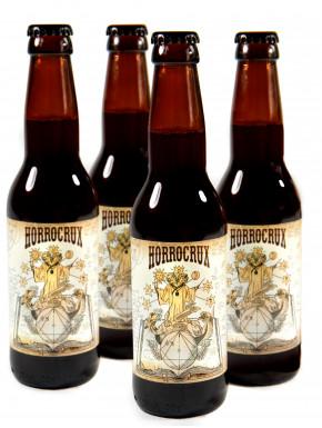 PACK 4 Cervezas de Mantequilla con Alcohol Horrocrux Harry Potter